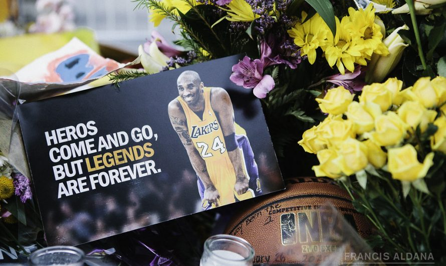 THE inspiration and motivation from Kobe Bryant